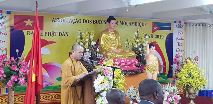 vietnamese citizens in mozambique celebrate buddha's 2563rd birthday hinh 3
