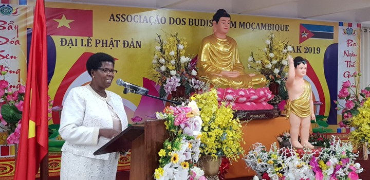 vietnamese citizens in mozambique celebrate buddha's 2563rd birthday hinh 4