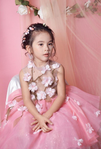 elsa thien long crowned mini miss diamond vietnam hinh 8