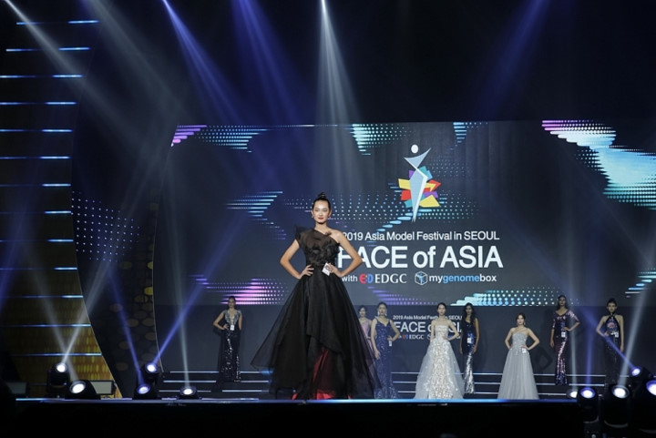 quynh anh finishes among the top 10 of face of asia 2019 hinh 1