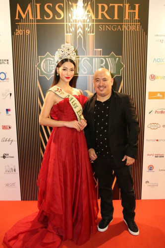 phuong khanh serves on judging panel for miss earth singapore 2019 hinh 4