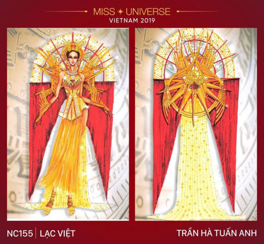 outstanding national costume entries revealed for hoang thuy at miss universe hinh 12