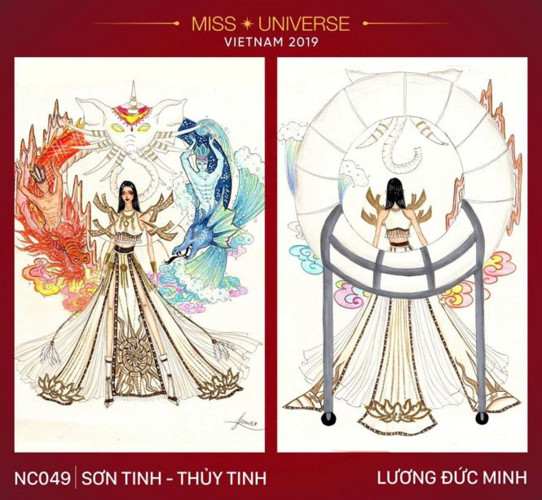 outstanding national costume entries revealed for hoang thuy at miss universe hinh 1