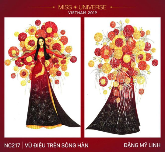 outstanding national costume entries revealed for hoang thuy at miss universe hinh 7