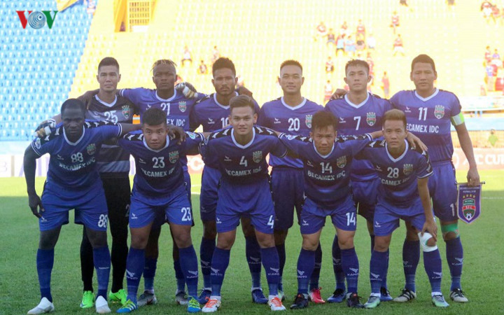 binh duong victorious in afc cup's asean zonal semi-final first leg hinh 1