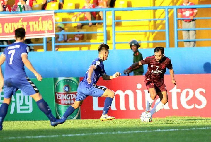 binh duong victorious in afc cup's asean zonal semi-final first leg hinh 6