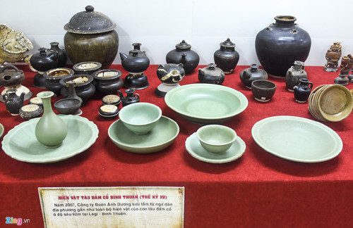 quang ngai hosts exhibition featuring treasures of ancient shipwrecks hinh 6