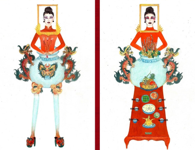 popular national costume entries revealed for hoang thuy's miss universe show hinh 2