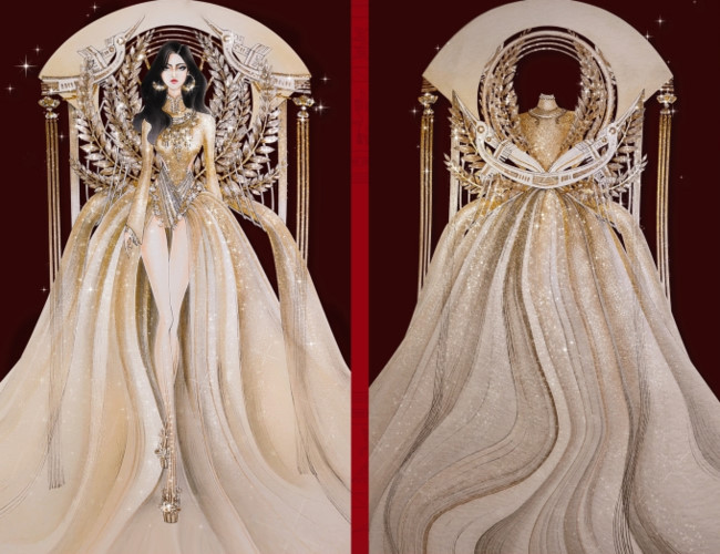popular national costume entries revealed for hoang thuy's miss universe show hinh 3