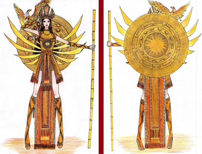 popular national costume entries revealed for hoang thuy's miss universe show hinh 5