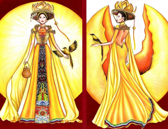 popular national costume entries revealed for hoang thuy's miss universe show hinh 6