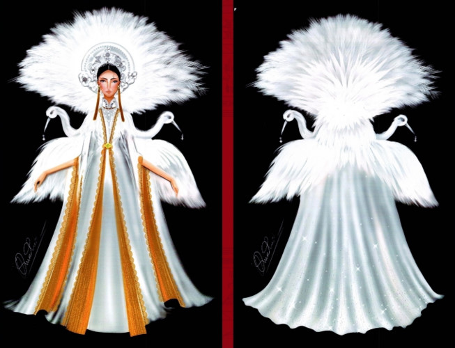 popular national costume entries revealed for hoang thuy's miss universe show hinh 9