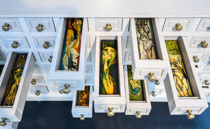 unique artworks featured in vinh phuc's art in the forest programme hinh 2