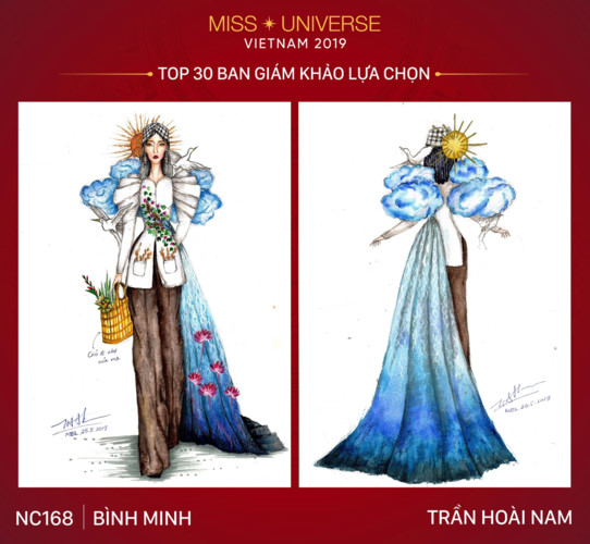 top 30 national costume entries unveiled to hoang thuy hinh 11