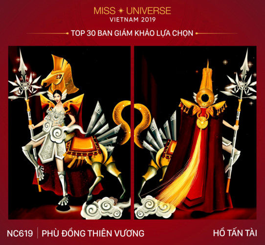 top 30 national costume entries unveiled to hoang thuy hinh 1