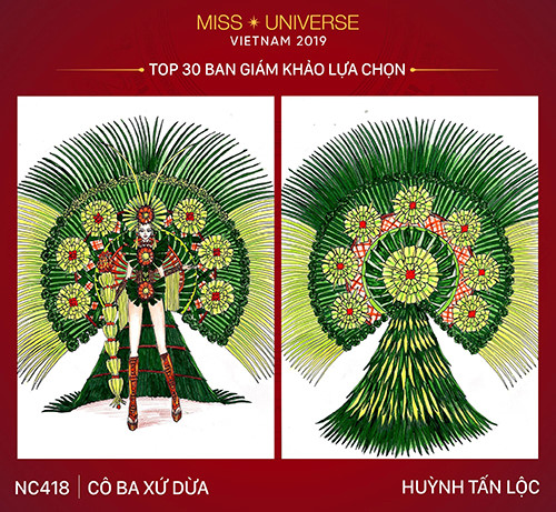 top 30 national costume entries unveiled to hoang thuy hinh 3