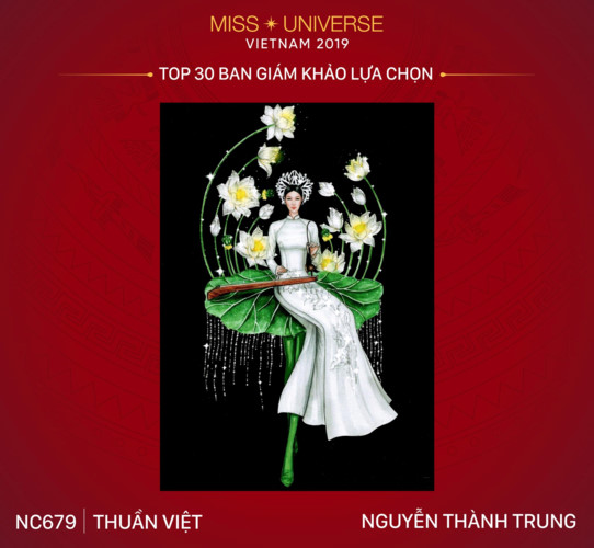 top 30 national costume entries unveiled to hoang thuy hinh 4