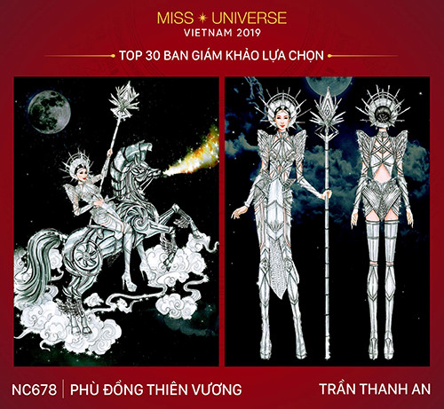 top 30 national costume entries unveiled to hoang thuy hinh 6