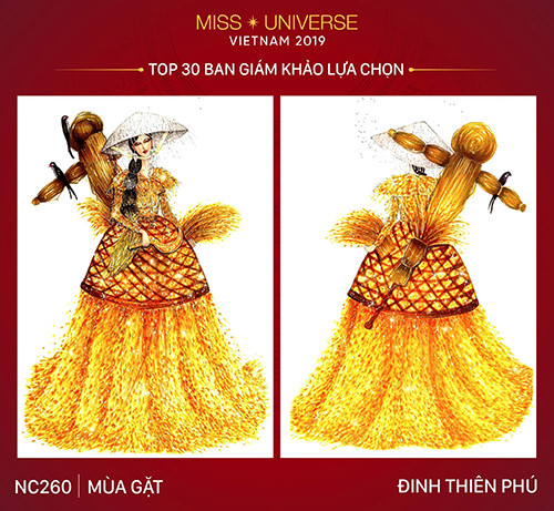 top 30 national costume entries unveiled to hoang thuy hinh 7