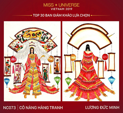 top 30 national costume entries unveiled to hoang thuy hinh 8