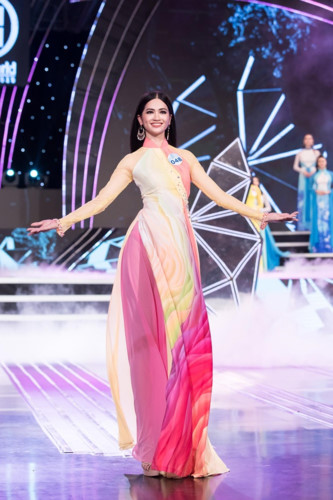 top 20 of the northern region progress to finals of miss world vietnam hinh 10