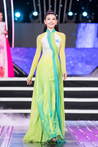 top 20 of the northern region progress to finals of miss world vietnam hinh 13