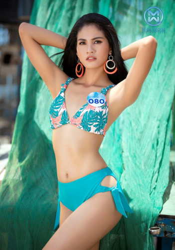 top 39 finalists of miss world vietnam 2019 dazzle whilst modelling in swimsuits hinh 10