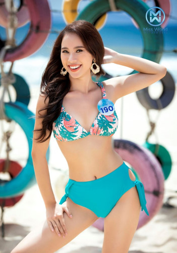 top 39 finalists of miss world vietnam 2019 dazzle whilst modelling in swimsuits hinh 13