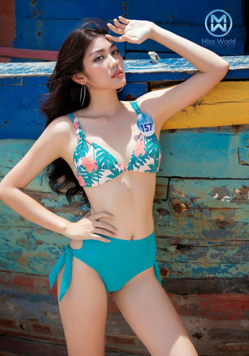 top 39 finalists of miss world vietnam 2019 dazzle whilst modelling in swimsuits hinh 15