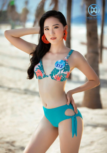 top 39 finalists of miss world vietnam 2019 dazzle whilst modelling in swimsuits hinh 16