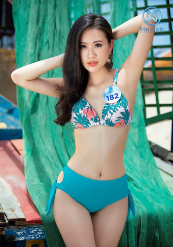 top 39 finalists of miss world vietnam 2019 dazzle whilst modelling in swimsuits hinh 18