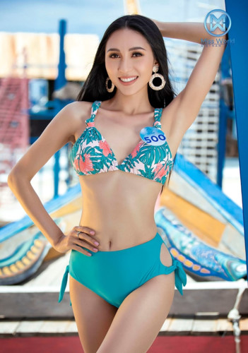 top 39 finalists of miss world vietnam 2019 dazzle whilst modelling in swimsuits hinh 20