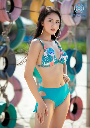 top 39 finalists of miss world vietnam 2019 dazzle whilst modelling in swimsuits hinh 21
