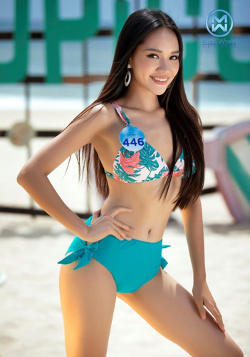 top 39 finalists of miss world vietnam 2019 dazzle whilst modelling in swimsuits hinh 5