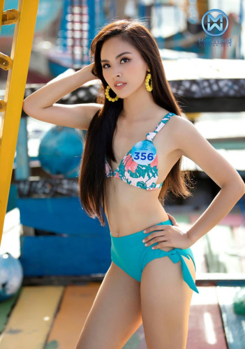 top 39 finalists of miss world vietnam 2019 dazzle whilst modelling in swimsuits hinh 6