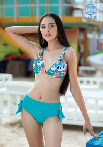 top 39 finalists of miss world vietnam 2019 dazzle whilst modelling in swimsuits hinh 8