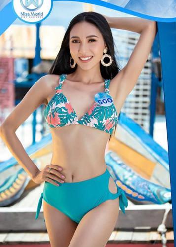 top 3 contestants of miss world vietnam's top model segment revealed hinh 10