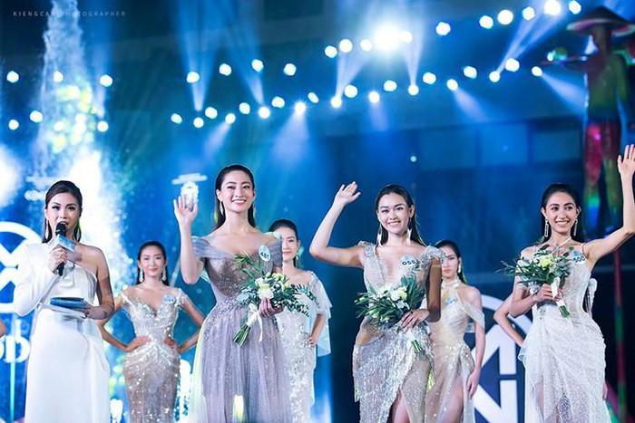 top 3 contestants of miss world vietnam's top model segment revealed hinh 1