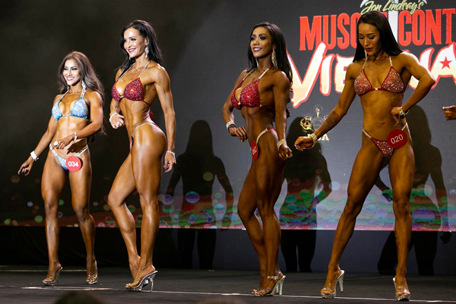 US competitor Erin Stern wins Muscle Contest Vietnam 2019