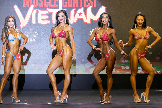 us competitor erin stern wins muscle contest vietnam 2019 hinh 3