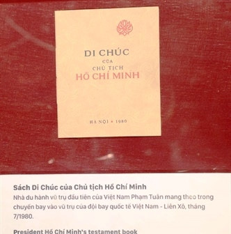 hanoi exhibition marks 50-years of president ho chi minh's testament hinh 6