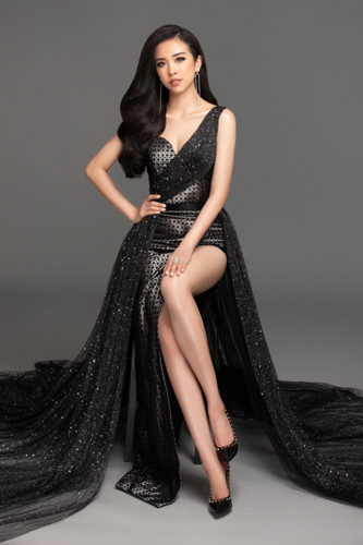 thuy an chosen to represent vietnam at miss intercontinental 2019 pageant hinh 1
