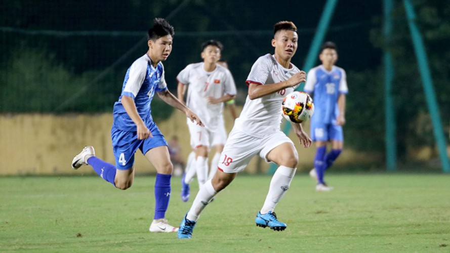 vietnam's u16s stroll to 7-0 win over mongolia in afc championship qualifiers hinh 4