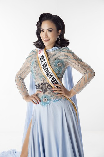 hoang hat poised to represent vietnam at mrs worldwide 2019 hinh 1