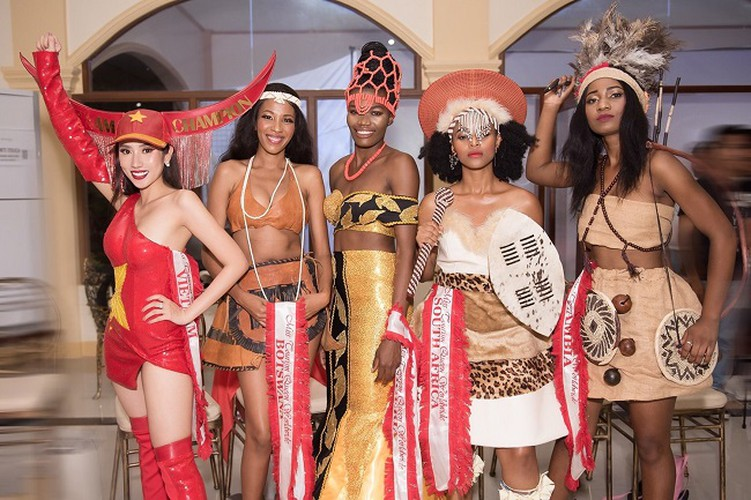 yen nhung in top 5 of national costume segment at miss tourism queen worldwide hinh 2