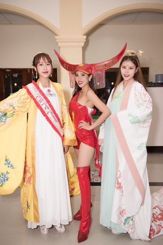 yen nhung in top 5 of national costume segment at miss tourism queen worldwide hinh 3