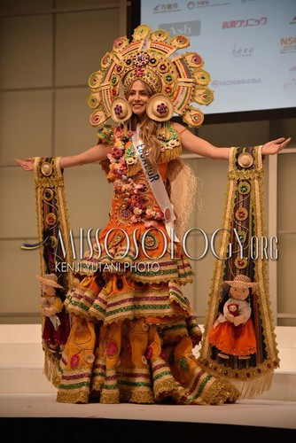 stunning national costumes on show at miss international 2019 hinh 12