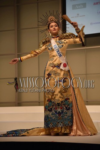 stunning national costumes on show at miss international 2019 hinh 1