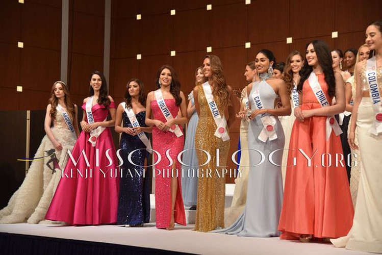 miss international contestants attend welcome party hinh 14