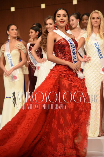 miss international contestants attend welcome party hinh 8